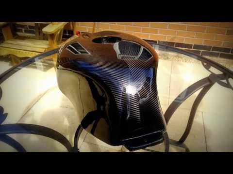 New Aprilia RS250 carbon fuel tank