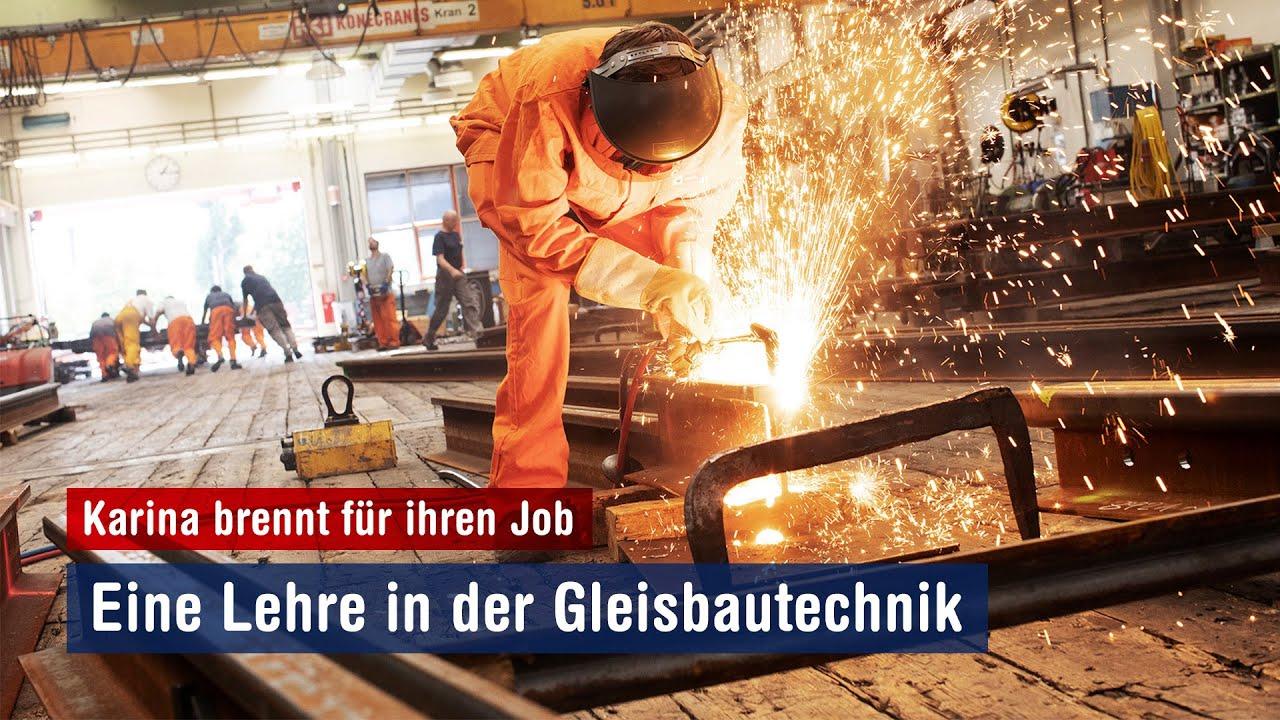 Bring Wien weiter - mit einer Gleisbautechniklehre