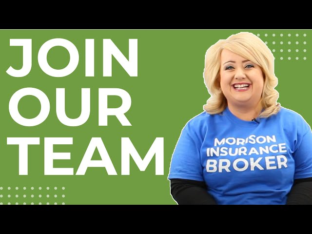Morison Insurance Brokers vs. Careers- Join Our Team.