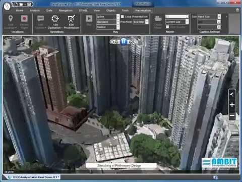 Skyline TerraExplorer 3D City Modelling Using Sensefly eBee in Hong Kong