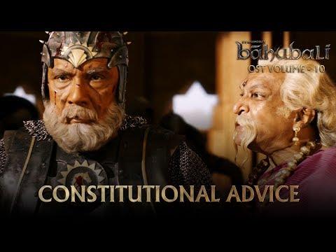 Baahubali OST - Volume 10 - Constitutional Advice | MM Keeravaani