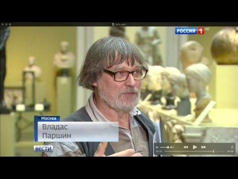 Владас Паршин в ГМИИ им. Пушкина учит хирургов рисовать