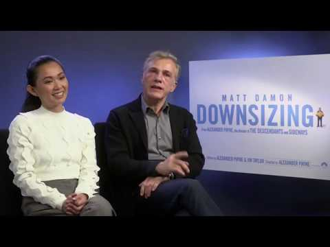 Christoph Waltz and Hong Chau discuss the profound message within Downsizing