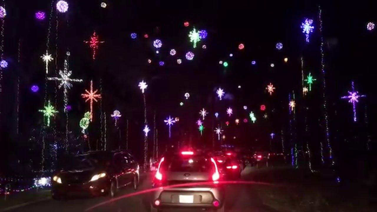 Best Christmas light display ever - Girvin Road - Jacksonville ...