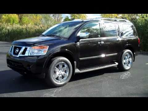 2011 Nissan Armada  Review & Test Drive Platinum Edition