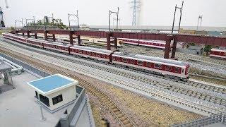 Nゲージ鉄道模型 近鉄2610系L/CカーX27編成 新内装更新車