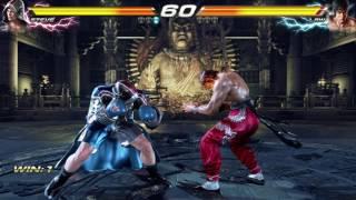 TEKKEN 7 (PS4) Steve Vs. Law Gameplay Match (1080p 60fps)