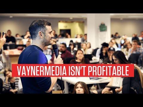 VAYNERMEDIA ISN'T PROFITABLE | GARYVEE'S THINKING LONG TERM - ARE YOU? TOP LINE REVENUE |AGENCY TIPS