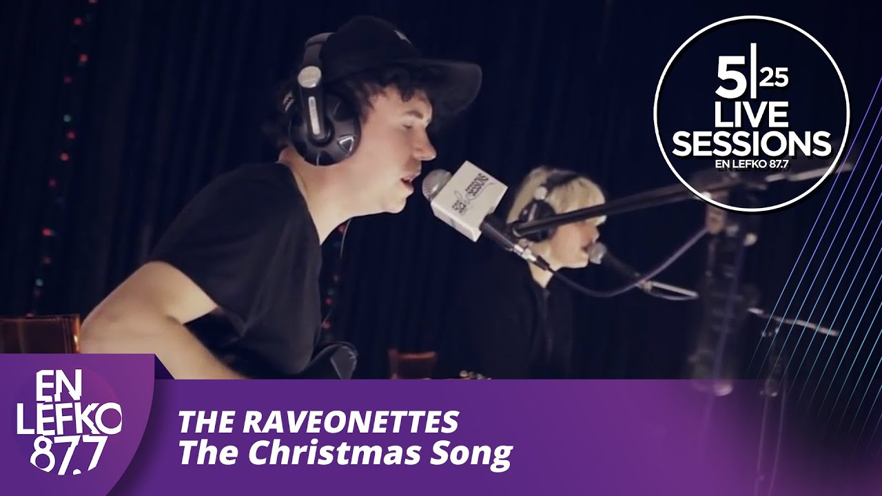 5 25 Live Sessions - The Raveonettes - The Christmas Song - YouTube