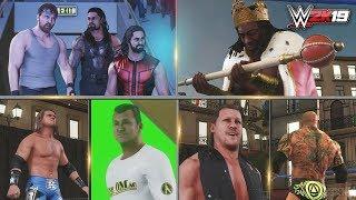 WWE 2K19 Entrances Part 2 - The Shield, Edge, King Booker, Chris Jericho, Batista & More