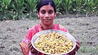 Alu Posto Vaji Recipe | Potato Fry with Poppy Seeds Easy and Simple Cooking By Street Village Food