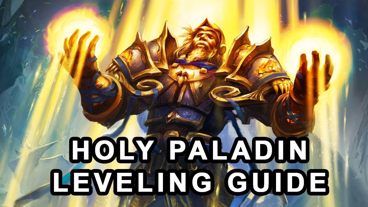 Classic WoW: Holy Paladin Leveling Guide - Alternative Build