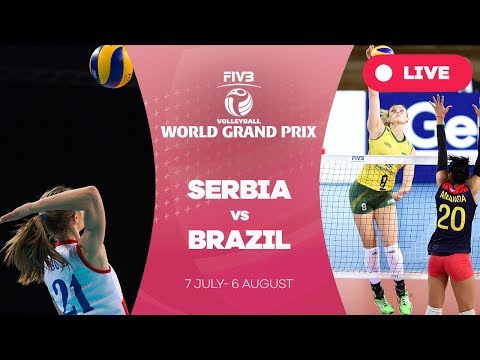 Serbia v Brazil - Group 1: 2017 FIVB Volleyball World Grand Prix