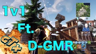 Fortnite 1vs1 Ft. D-GMR. Battle Royale Gameplay I Think I'm Done Devin is Really Good