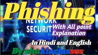 Phishing   How do Phishing with Example    Hindi and English  #ForExaminationpreparation,#selfstudya