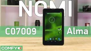 Nomi C07009 Alma - бюджетный таблет с IPS-экраном - Видео демонстрация