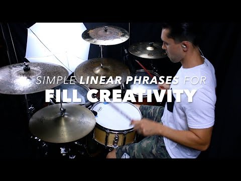 Useful Linear Phrase For Fill Development- Drum Lesson With Eric Fisher