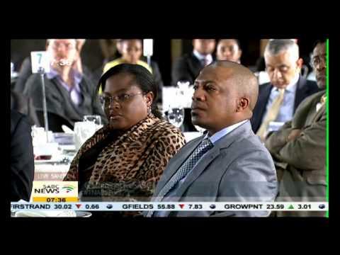SABC/TNA Business Briefing on Mining Lekgotla.