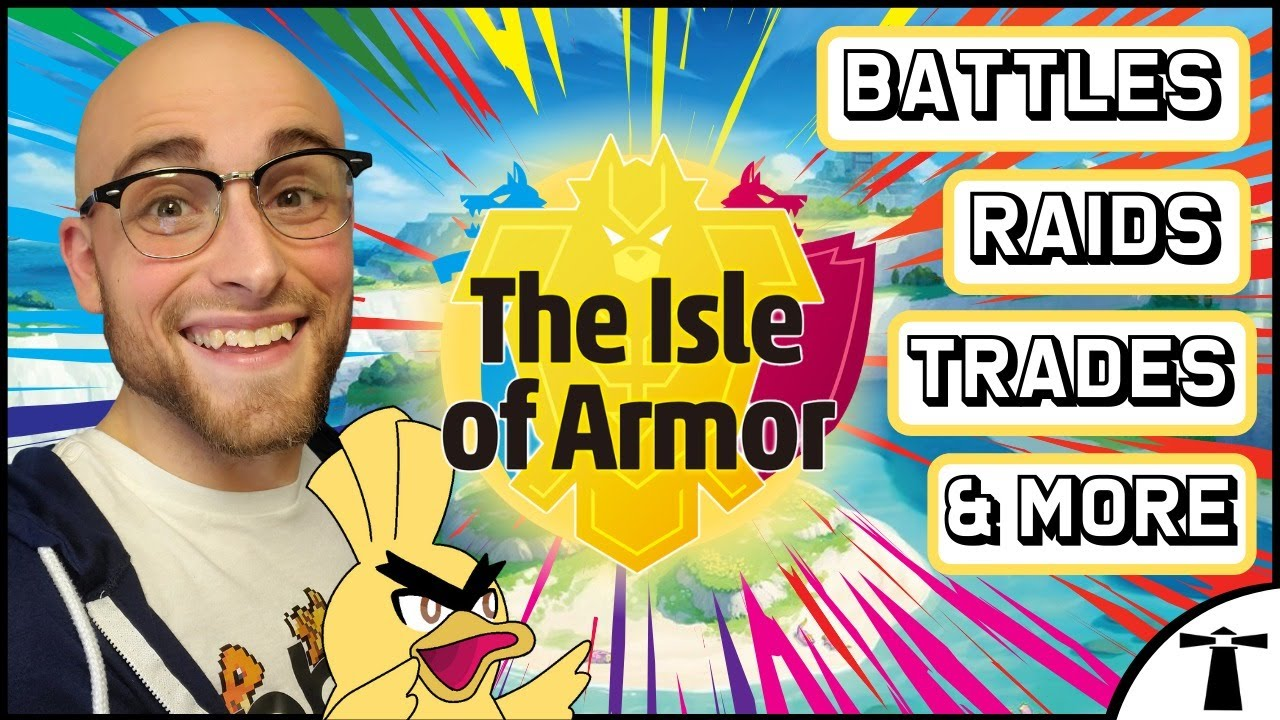 Pokemon Sword and Shield Isle of Armor! Battles, Max/Shiny Raids, Trades, Giveaways and More!