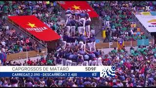 20181007 Capgrossos de Mataró 5d9f Concurs de Castells