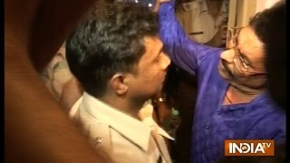 JDU MLA Anant Singh misbehaves with Patna police during arrest | India TV