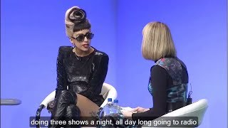 Learn English with Lady Gaga Talk Show - English Subtitles