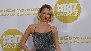 Emma Hix 2020 XBIZ Awards Red Carpet Fashion In 4K