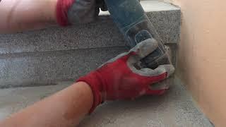 Renovace teracovych schodu a podest