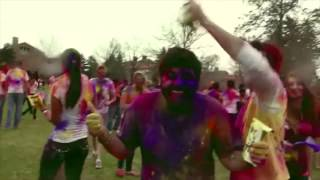 Texas A&M University Holi 2014 at Simpsons Drillfi