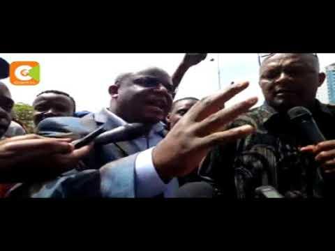 We will support the Re-election of Uhuru Kenyatta - Nairobi Business community