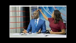 Kenyans Online Want Dennis Okari to Marry Olive Burrows After Their NTV Debut