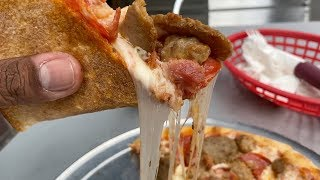 Eating At The WORST Reviewed Pizza Restaurant In New York City | MIND BLOWN!