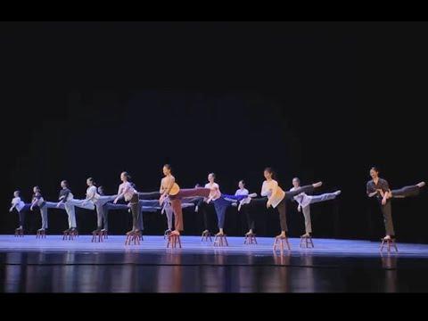 《晨光曲/渔光曲》排练版上海歌舞团  领舞朱洁静 央视春晚2020