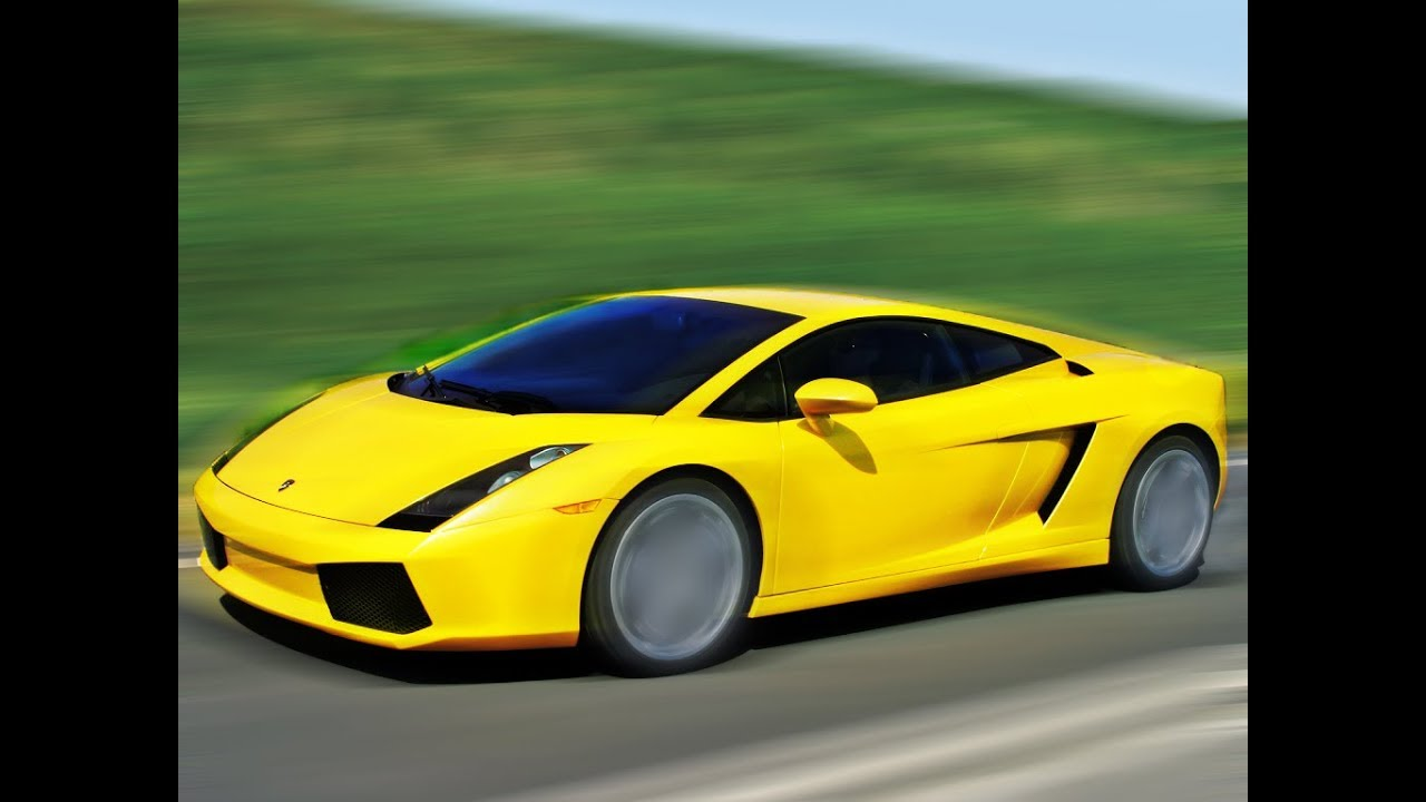 How To Add Fake Photoshop Motion Blur Effect In Lamborghini Youtube