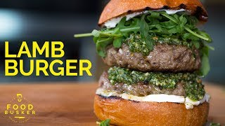 LAMB BURGER | with perfect ingredients