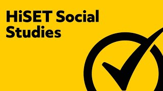 HiSET Test Review - Social Studies Study Guide