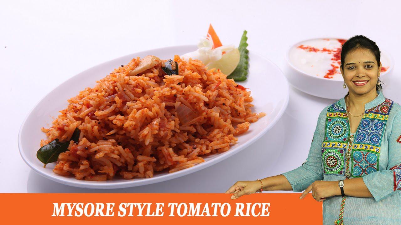 Mysore style tomato rice mrs vahchef youtube forumfinder Gallery