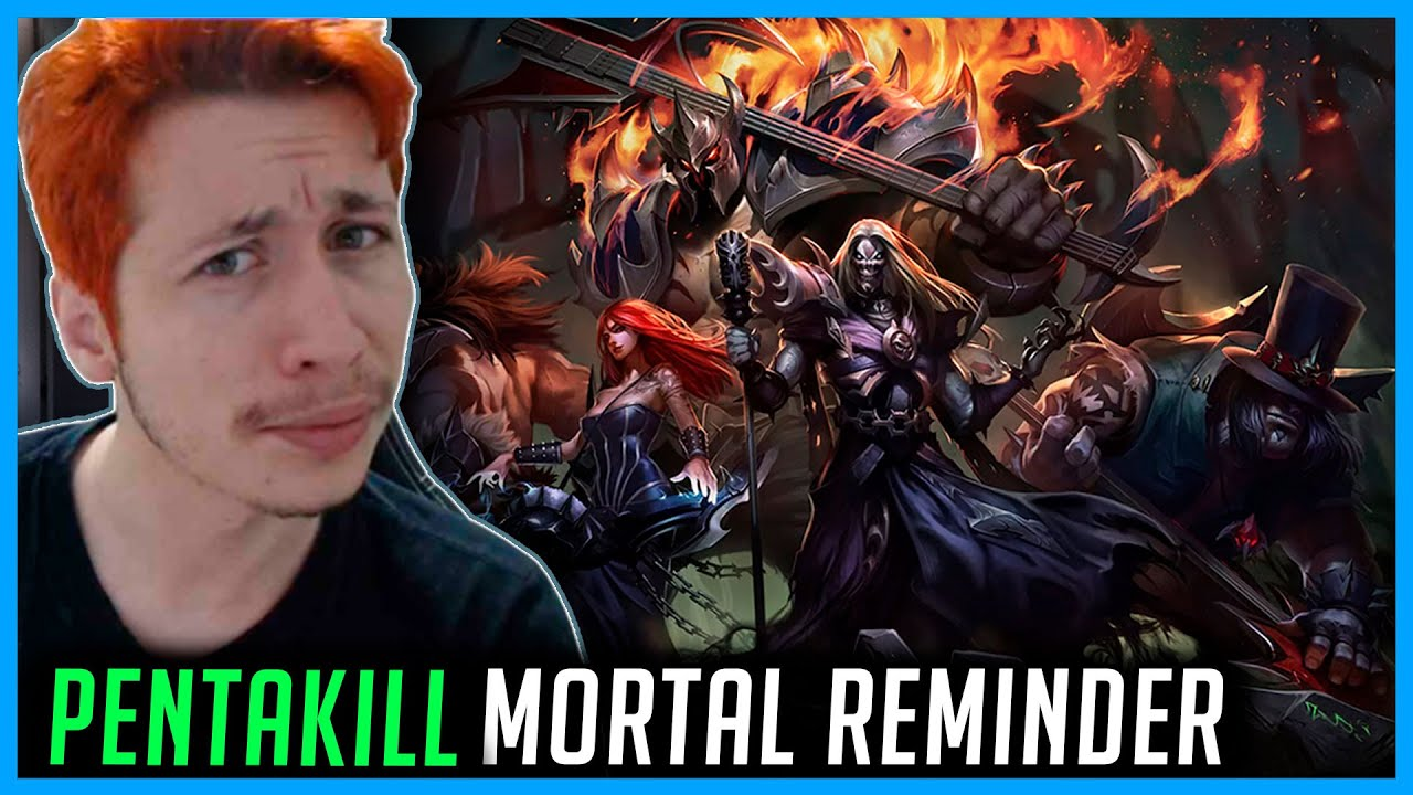 REACT Pentakill: Mortal Reminder | Official Music Video - League of Legends