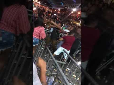 Briga no Ária Hall em Feira de Santana