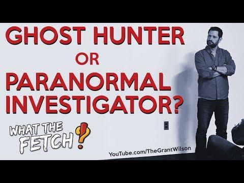 Ghost Hunter or Paranormal Investigator