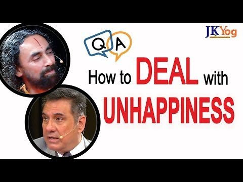 How to Deal with Unhappiness? | Swami Mukundananda and Boman Irani