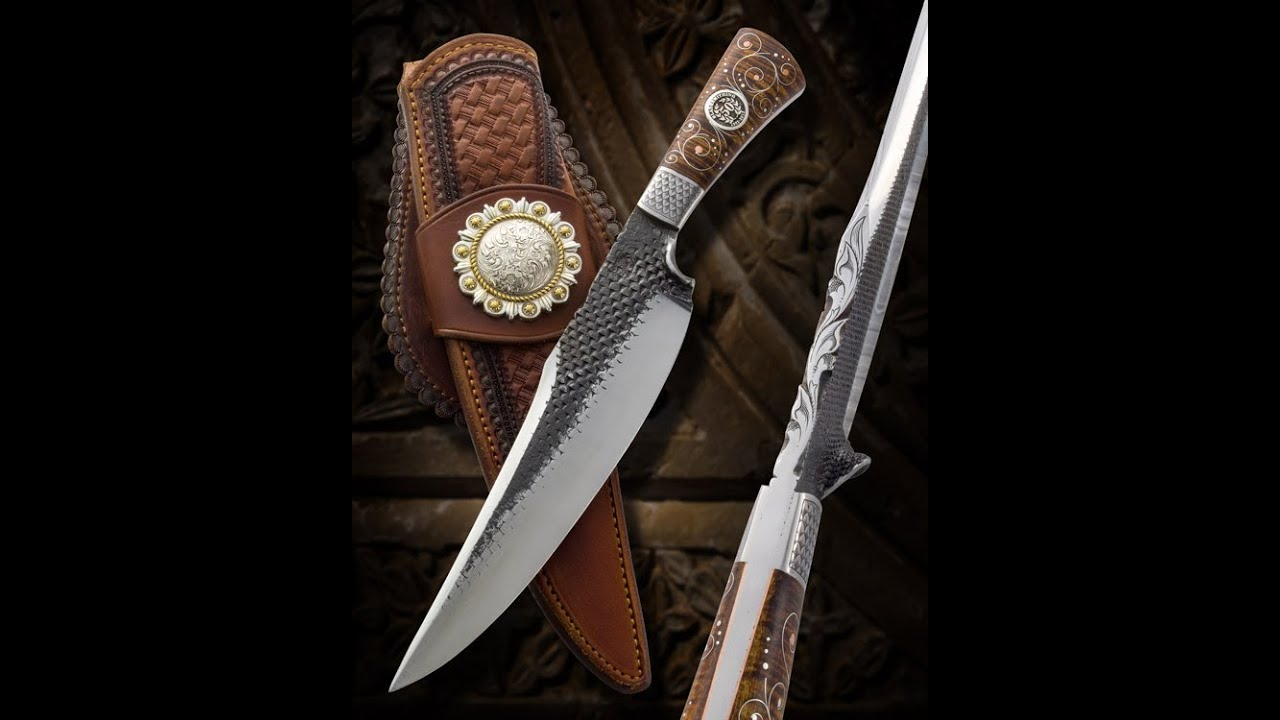 Ben Lilly Bear Killer Knife by Joe Keeslar, Master Smith ...