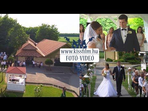 Magyar Talléros Rendezvényház,  Nyírtass (Krisztina és Dániel) KISSFILM.HU
