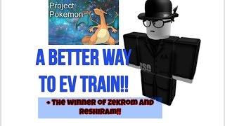 Un modo MIGLIORE per allenarsi EV! - Faccia Reveal! - Roblox Progetto Pokemon