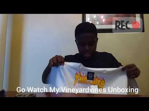 Zumiez Thrasher Shirt Unboxing!🔥🔥