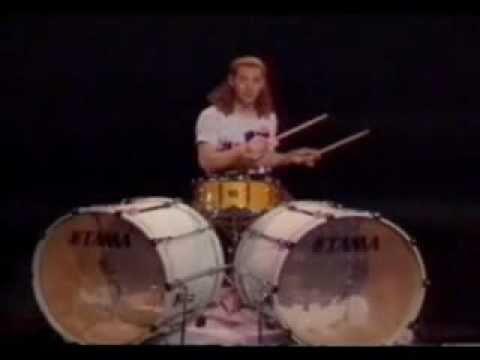 Simon Philips - Drum Exercise (paradiddle)