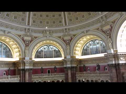 Library of Congress - Main Reading Room, Washington D.C. - December 2013