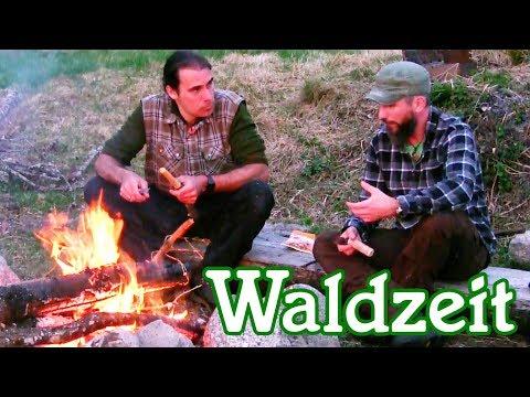Zwei Männer im Schwarzwald - Wandern, grillen und am Lagerfeuer chillen