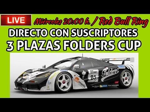 🔴 Directazo de Gran Turismo Sport - Carreras con suscriptores - 3 plazas para FOLDERS CUP !! thumbnail