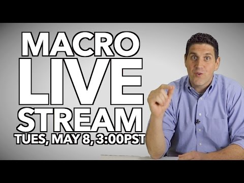 AP Macro LIVE stream - May 8th 3-5pm (PST)